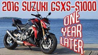 5. 2016 Suzuki GSX-S1000 | One Year Later