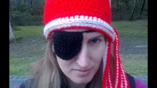 Eye Patch Crochet Tutorial