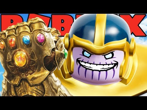 THANOS IS THE MOST OVERPOWERED SUPERHERO IN ROBLOX! (Roblox Superhero Tycoon)