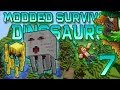 Minecraft: Modded Dinosaur Survival Let's Play w/Mitch! Ep. 7 - NETHER, GHASTS, & BLAZES!