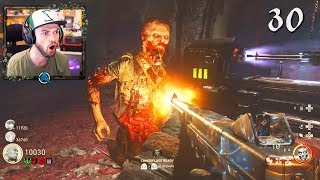 COD WW2 Zombies GAMEPLAY #1 - EASTER EGG COMPLETED! (Call of Duty ZOMBIES)
