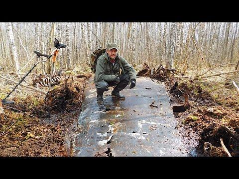 Коп немецкого самолета  Юнкерс 88 /Excavations of the German aircraft WWII (видео)