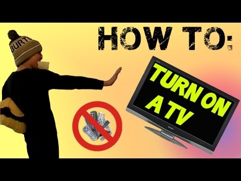 How to Turn on a TV (Comedy)