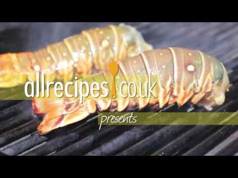 How to barbecue lobster tail - Lobster video recipe