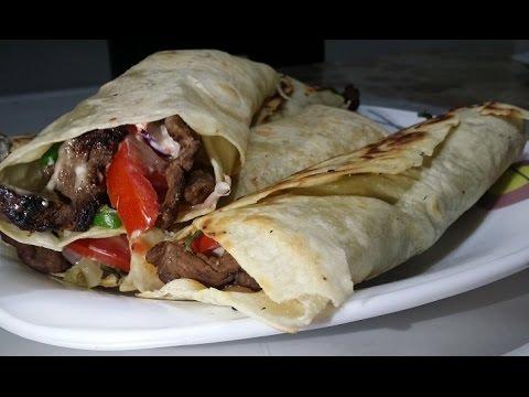 Turkish Beef Shawarma شاورما اللحم على الطريقة التركية