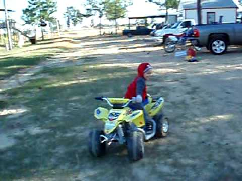 Little Kids Trick Riding Power Wheels