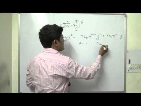 Binomial Theorem Class 11 XI CBSE Part 1