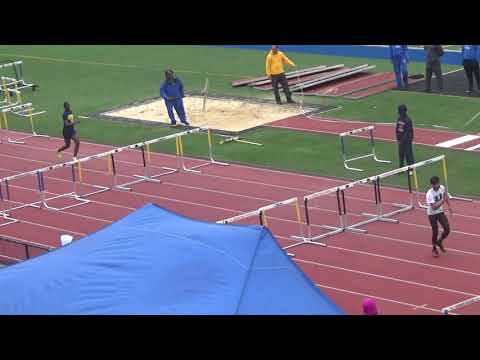 Eagle Academy-Nwk.,N.J. Bulldog Relays Varsity Boys Shuttle Hurdle Relay 4-20-2019