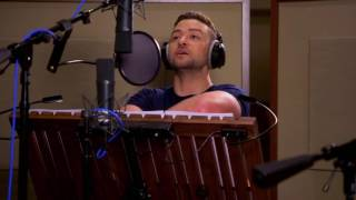 Trolls: Justin Timberlake & Anna Kendrick Behind the Scenes Voice Recording Video