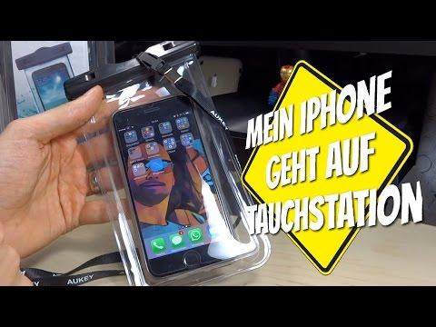 Achtung !! Tauchstation : Unterwasser Review Wasserdichte Smartphone Tasche im Praxis Test