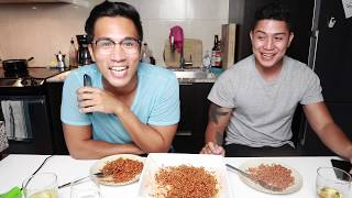 GWAPO SAMYANG NOODLE CHALLENGE INTERVIEW