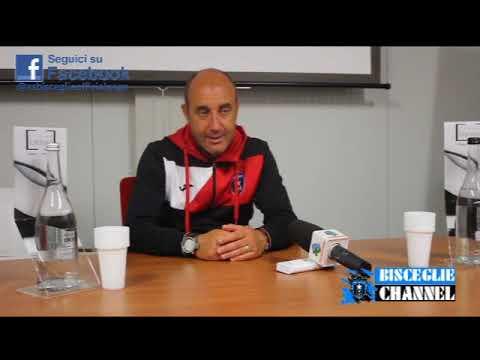 Preview video 02/09/2017 Sala stampa Bisceglie - V.Francavilla