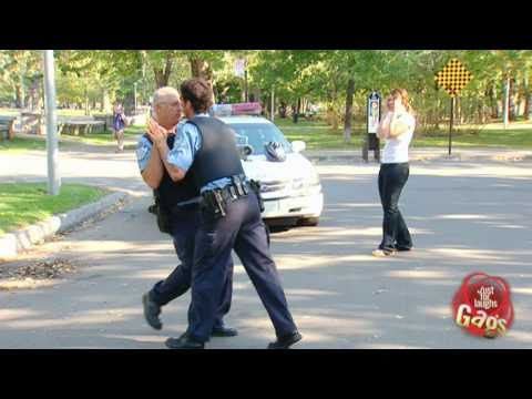 Crazy Dancing Cops