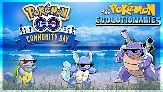 SQUIRTLE SQUAD!! Pokemon GO Community Day | July 2018 by The Pokémon Evolutionaries