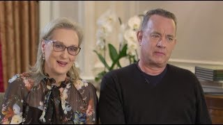 Video Were Tom Hanks and Meryl Streep paid the same in The Post? | ITV News MP3, 3GP, MP4, WEBM, AVI, FLV Juli 2018