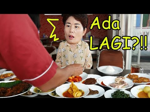 Mamaku Pertamakali Coba Masakan Padang! (ft. Jengkol)