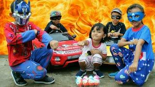 Video Parodi Lucu!!!Kinderjoy Little princess Rara dicuri [] Mainan Anak Surprise Egg+kostum&topeng zara MP3, 3GP, MP4, WEBM, AVI, FLV Agustus 2019