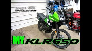 8. My Kawasaki KLR 650 Dual Purpose Adventure Motorcycle