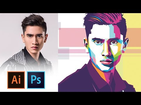 WPAP Tutorial - IllUSTRATOR/PHOTOSHOP