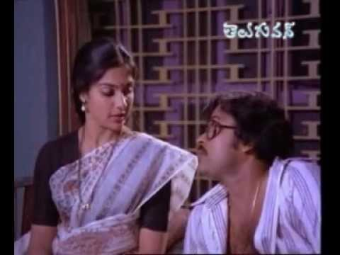 Intlo Ramayya Veedilo Krishnayya   Full Movie   Chiranjeevi   Madhavi   Part 02