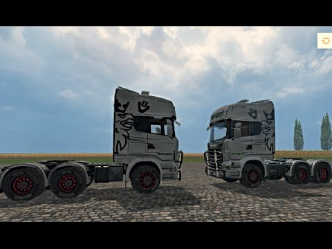 Scania R730 Euro Farm v0.95 beta