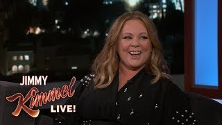 Video Melissa McCarthy on Kimmel Injury & Parents Staying with Her MP3, 3GP, MP4, WEBM, AVI, FLV Maret 2019