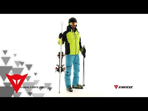 Dainese BLACK GRUAL D-DRY® Jacket