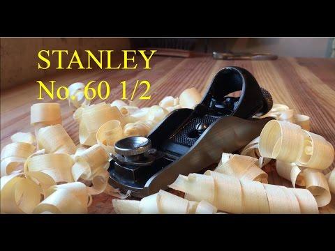 Restoring a Stanley No. 60 1/2 Block Plane (видео)