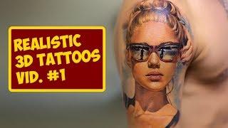 Video Realistic 3d Tattoos #1 | TATTOO WORLD MP3, 3GP, MP4, WEBM, AVI, FLV Juni 2018