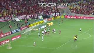 Gols do jogo Flamengo 2 x 0 Atlético-MG 60fps - 1ª Semifinal Copa do Brasil 2014 - 29/10/2014.