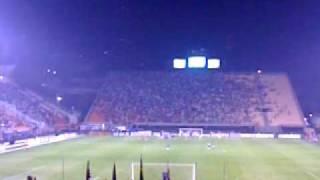Terceiro gol do Palmeiras aos 44 do segundo tempo! Marcos Assunção de falta! Copa Sul-Americana - 19/08/2010.