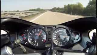 9. Suzuki Hayabusa--Top Speed in Acceleration (FULL POWER+ Acceleration +330 KM/H + Wheelie,)