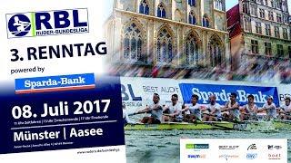 Ruder-Bundesliga: 3. Renntag in Münster, Achtel- und Viertelfinals