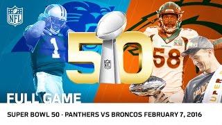 Video Super Bowl 50 - Panthers vs. Broncos   NFL Full Game MP3, 3GP, MP4, WEBM, AVI, FLV Oktober 2018