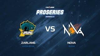 Zarlans vs NOVA, 1/4, map 2 train, SLTV ProSeries Season 17