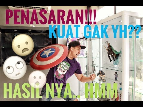 SHIELD CAPTAIN AMERICA VS KACA LEMARI DISPLAY GUE...