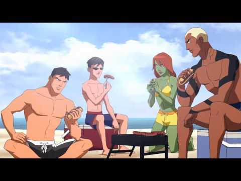 Young Justice - At the Beach