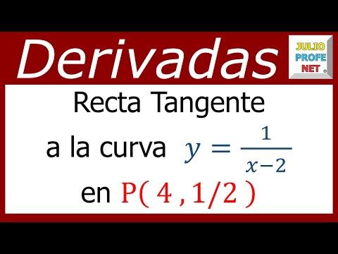 Finden Sie die Gleichung der geradenTangente zu einer Kurve