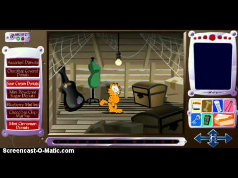 Garfield's Scary Scavenger Hunt II: Donuts of Doom HD