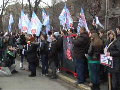 Протест ДК под МВД. NewsONE 30.03.12