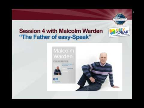easy-Speak Up Close!  Meet the Creator—Malcolm Warden