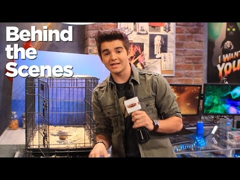 Behind the Scenes of Nickelodeon's The Thundermans Part 2!