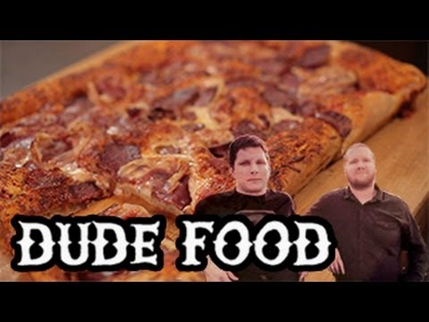 meat lovers - Want to make a manly meat-lover's pizza the traditional Italian way? Check out the episode for a simple but delicious recipe for this classic people pleaser....