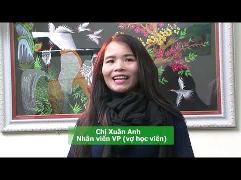 Chị Xuân Anh, vợ của học viên NBT chia sẻ sau khi chồng chị trị liệu khắc phục rối loạn cương dương bằng máy ED1000