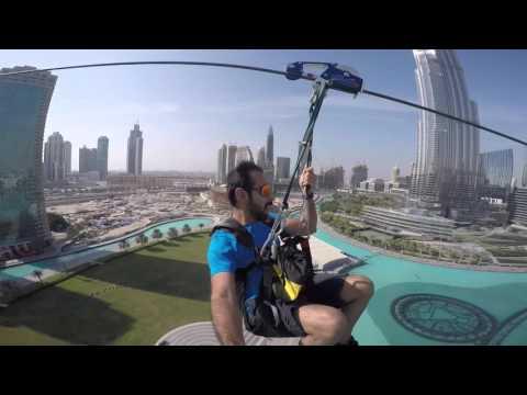 Tätä pitäisi kokeilla: XLine Zipline Dubai