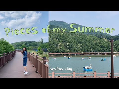 Pieces of my Summer days🍧 | Day in Seoul | Seoulite vlog | heyday vlog