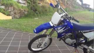 2. 2006 Yamaha Yz85 Start-up & Ride