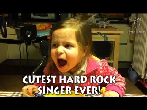 Elisabetta, la niña Hard Rock