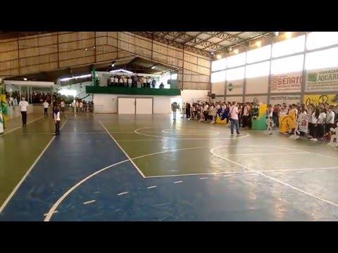 #HinoNacional na #Abertura do #63ºJEPs_Municipal #Jaguariaíva