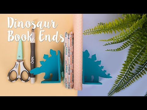 How to Create Dinosaur Bookend - Sizzix
